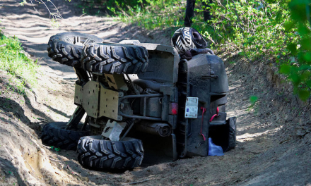 Dos jóvenes resultan heridos en un accidente de quad registrado en Mérida