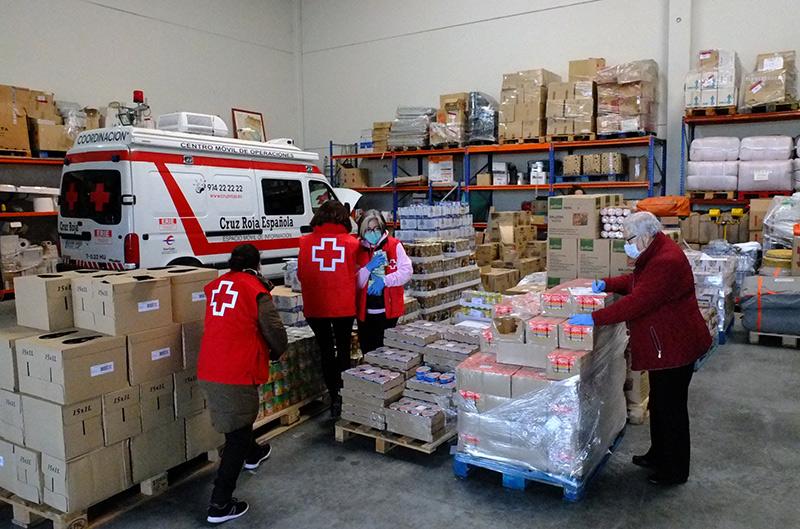 Cáceres otorga subvenciones a colectivos que ayudan a familias de riesgo durante la crisis sanitaria