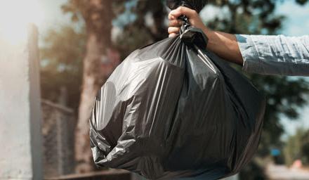 Promedio recuerda el uso de tres bolsas de basura en los hogares con Covid