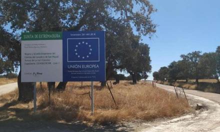 Agricultura invierte más de 260.000 euros en el camino del Lavadero de San Miguel de Arroyo