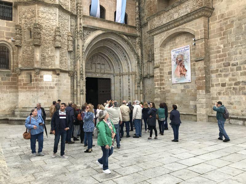 Coria recibe la visita de más de 1.500 turistas durante el mes de julio