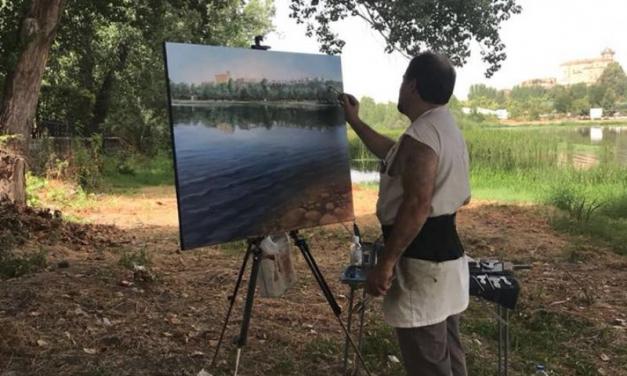 """El sábado se celebra el VIII Certamen Internacional de Dibujo y Pintura al aire libre """"Bufón Calabacillas"""" de Coria"""