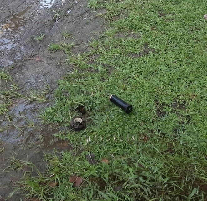 La empresa de jardines denuncia actos vandálicos en el sistema de riego por más de 3.500 euros