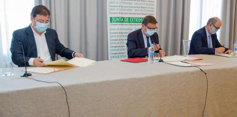 Extremadura insiste en que es fundamental modernizar el regadío para avanzar