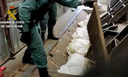 La Guardia Civil detiene a 62 personas en una operación internacional de drogas con contactos en Cáceres