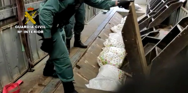 Guardia Civil detiene a 62 personas en una operación internacional de drogas con contactos en la provincia de Cáceres