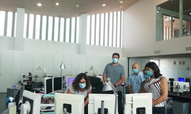 El servicio de ambulancias de Gibraltar conoce en Mérida el funcionamiento del centro 112