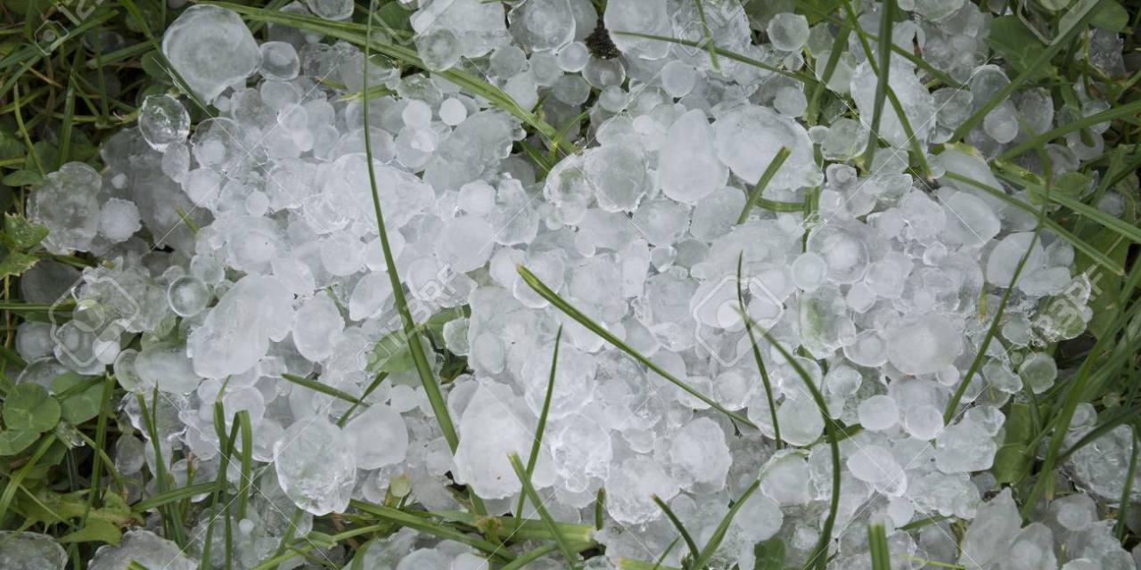 La intensa tormenta de granizo provoca graves daños en cultivos de Las Vegas Altas