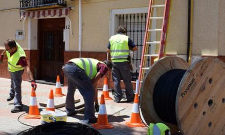 Un total de 16 municipios extremeños ha entrado en la red de fibra óptica de Movistar