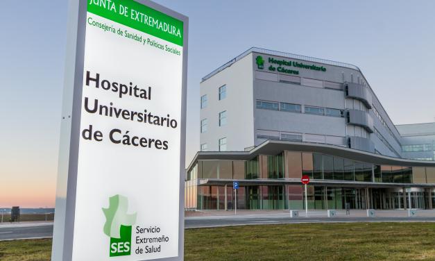 Trasladan grave al Universitario de Cáceres a un hombre herido en un accidente en Valencia de Alcántara