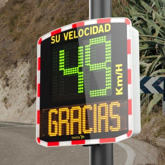 Los conductores de Badajoz sabrán si circulan a la velocidad correcta gracias a los radares educativos