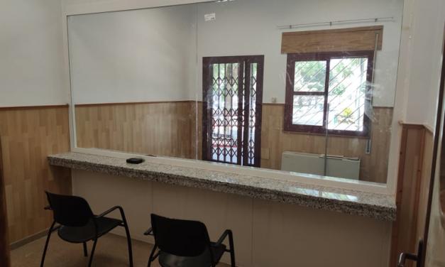 La residencia de mayores pública de Zafra ya cuenta con una sala de visitas segura frente al coronavirus