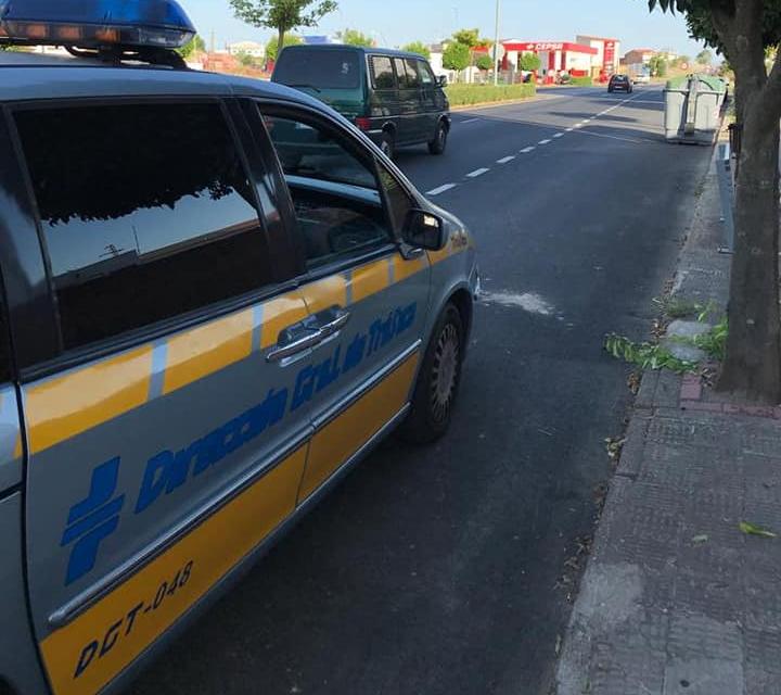 La Policía de Moraleja intercepta un coche que circulaba en pleno casco urbano a más de 80 kilómetros