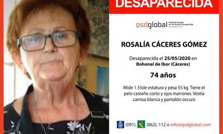Continúa la búsqueda de Rosalía Castro tras cuatro meses desaparecida