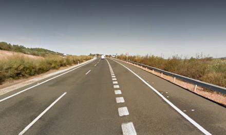 Muere una mujer de 31 años en accidente de tráfico en la A-66 a la altura de Alcuéscar