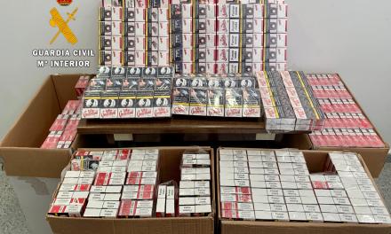 Intervienen 2.000 cajetillas de tabaco de contrabando a un conductor en la autovía A-66