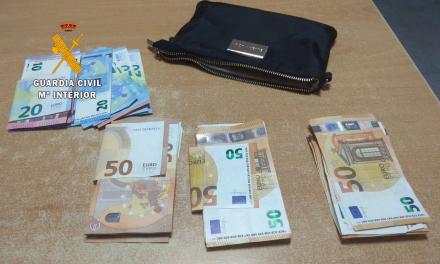 La Guardia Civil encuentra una cartera de un trabajador de Miajadas con casi 3.000 euros