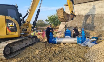 Moraleja pide un uso racional del agua mientras se conecta la red al nuevo depósito