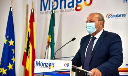 """Monago considera que los Presupuestos Generales del Estado son """"falsos"""""""