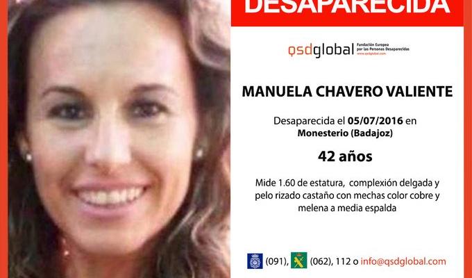 El detenido por la desaparición de Manuela Chavero confiesa que la mató accidentalmente