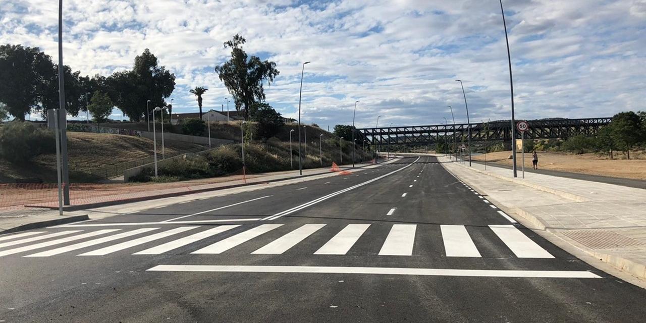 La Junta invertirá más de dos millones y medio de euros para finalizar la obra de la Avenida del Río de Mérida