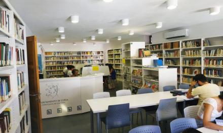La biblioteca de Coria adopta medidas frente al Covid y recupera el horario de invierno
