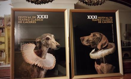 A la venta el cartel del Festival de Teatro Clásico de Cáceres para ayudar a un refugio de animales