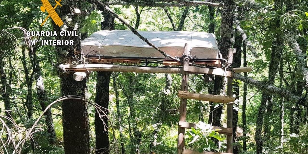 """La Guardia Civil detiene a un cazador furtivo en la Reserva de Caza """"La Sierra"""" en Gredos"""