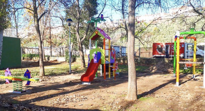 Coria dotará de sombra los parques infantiles para proteger a los más pequeños