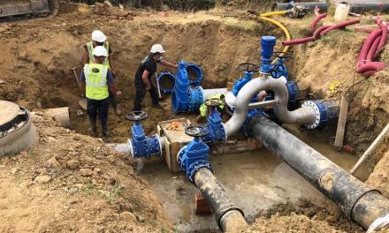 Moraleja estima que el nuevo depósito de agua entre en funcionamiento en dos semanas