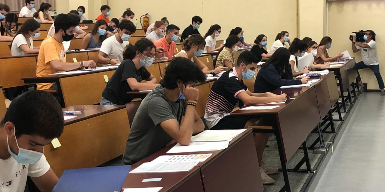 Aprobado para el 95,63% de los estudiantes presentados a la EBAU en Extremadura