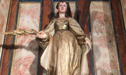 La Covid empaña el Trecenario de Santa Eulalia que tendrá este año un único horario al día