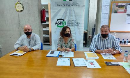 Inaugurado en Badajoz el curso de la Academia de Seguridad Pública con 74 nuevos policías