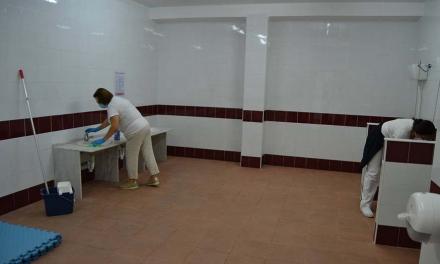 Jerez intensifica la desinfección de los centros escolares para recibir a los estudiantes