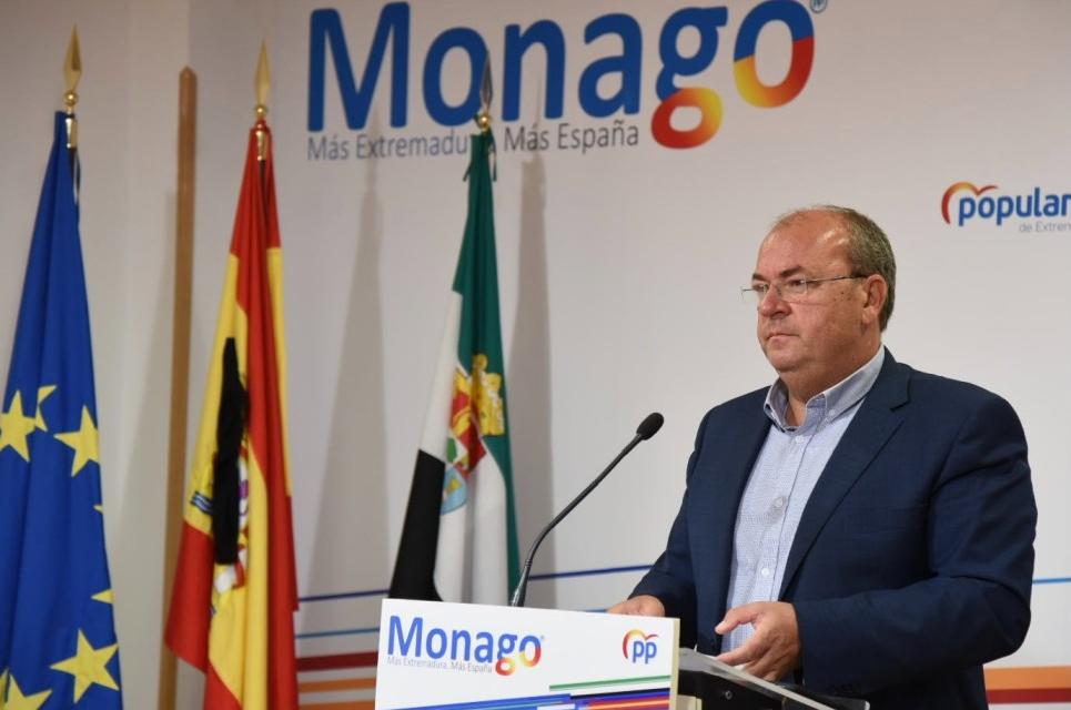 Monago pide que se blinden las residencias de mayores