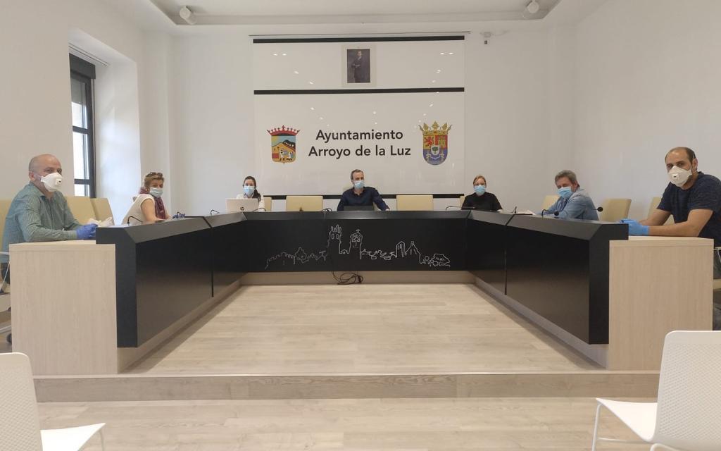 Arroyo crea un centro de coordinación para atender las necesidades de la Covid