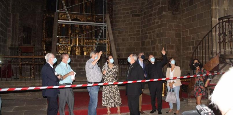 La rehabilitación tras el incendio de la Iglesia de San Martín de Plasencia costará 400.000 euros