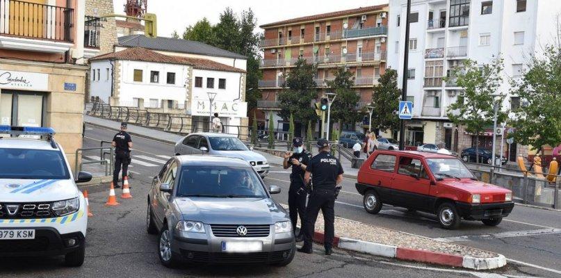 Policía Local realiza controles de velocidad en Coria