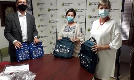 Zafra repartirá 60 kits de material escolar a estudiantes en situación de vulnerabilidad