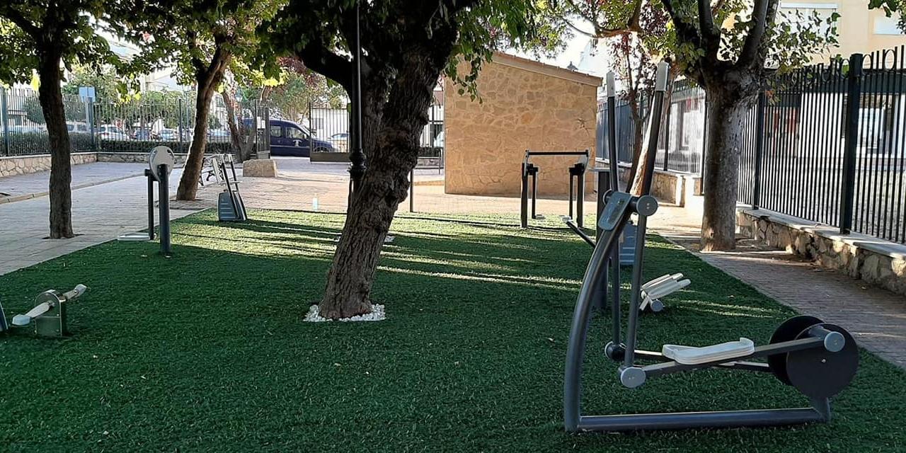 Moraleja renueva la zona deportiva del parque Alfanhuí