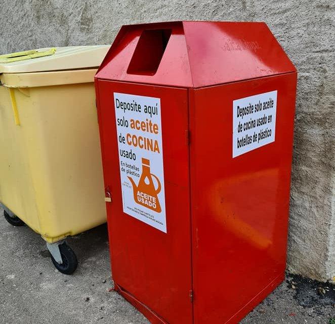 Zarza la Mayor facilita el reciclaje de aceite usado con nuevos contenedores