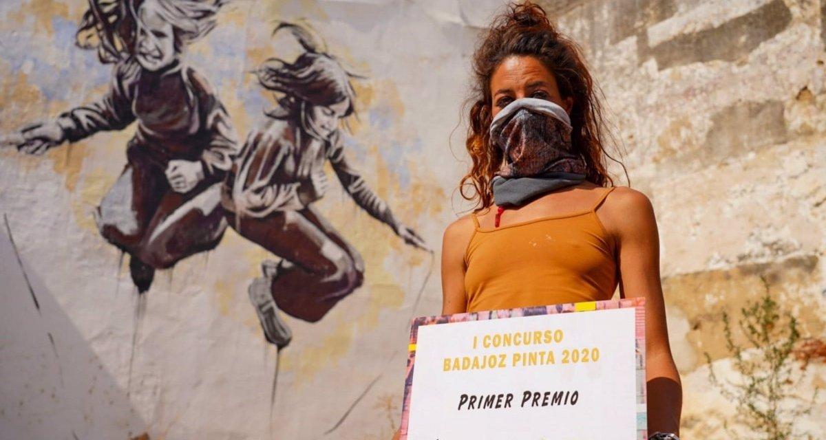 "Ana Repullo gana 3.000 euros en el primer concurso ""Badajoz Pinta"""