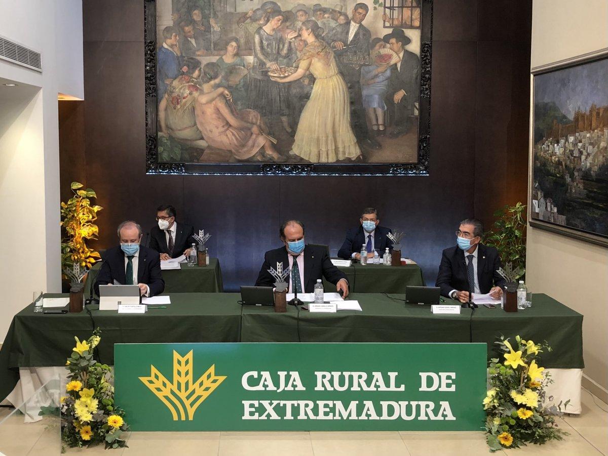 Caja Rural de Extremadura logra un beneficio de 8,9 millones, un 35% más que en 2018