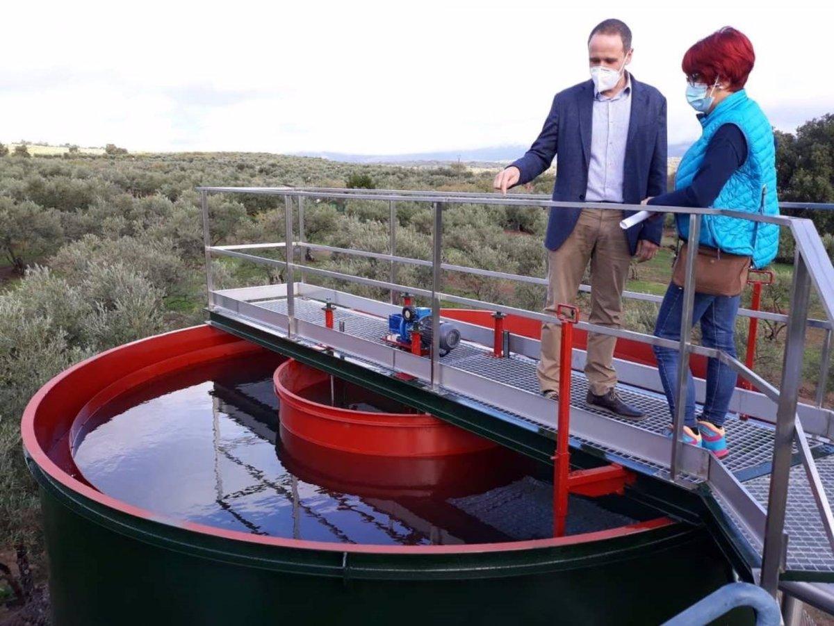 Los trabajos de mejora de la estación de agua de Tejeda de Tiétar finalizarán próximamente