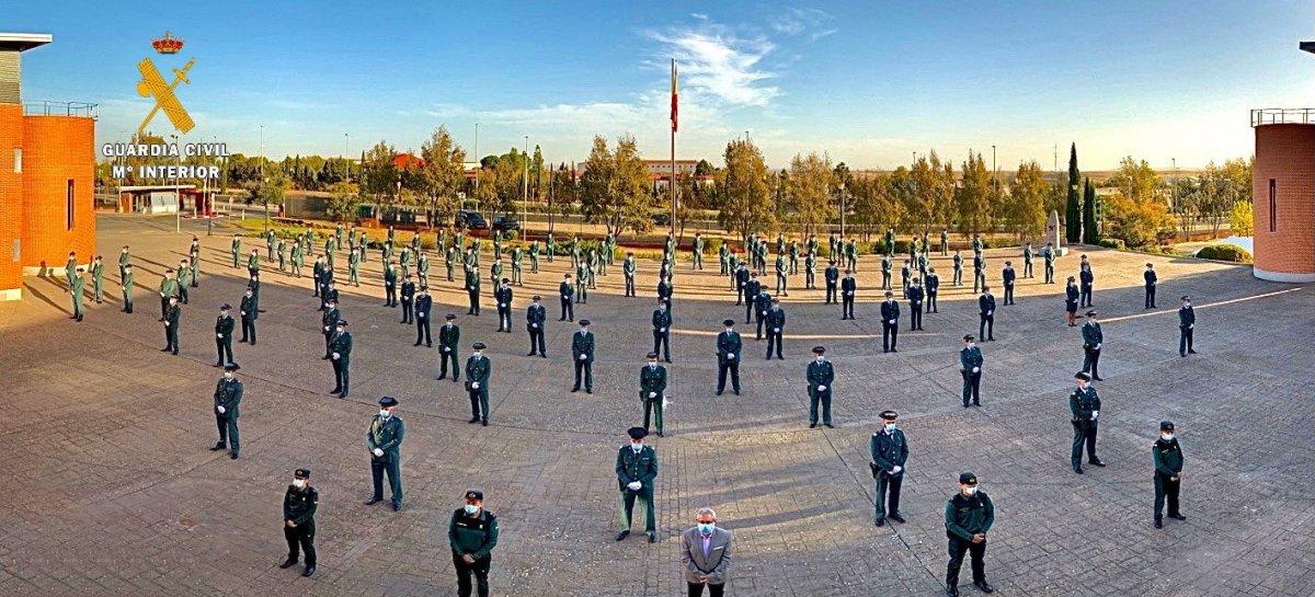 La Comandancia de Cáceres ha incorporado 150 nuevos guardias civiles desde el mes de mayo