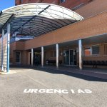 Trasladan al Hospital de Coria a una mujer tras colisionar dos coches en un accidente entre Holguera y Riolobos