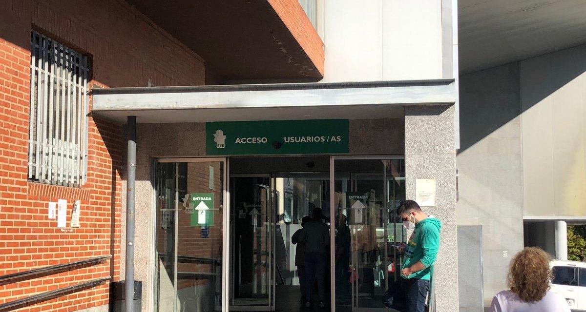Cáceres notifica 19 nuevos contagios y tiene 36 hospitalizados por Covid, dos de ellos en la UCI