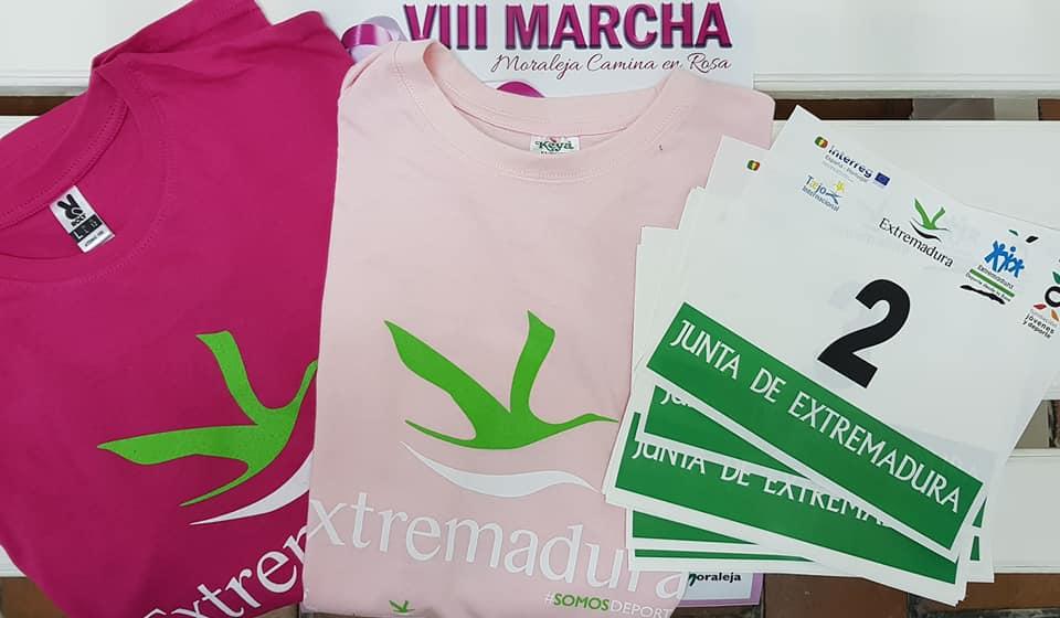 Moraleja anima a los vecinos a participar en la VIII Marcha Camina en Rosa