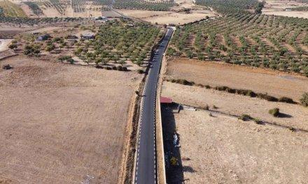 Finalizadas las obras de reparación de caminos en Alcuéscar por 159.000 euros