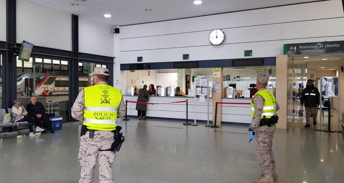 Una exposición muestra la labor de los militares extremeños durante la pandemia